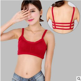 Wholesale Hot style is the type that wipe a bosom and flawless beauty underwear No rims girl sports bra wrapped chest