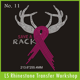 Wholesale Factory offer best quanlity and price for ribbon save a Rack hot fix rhinestone transfer designs