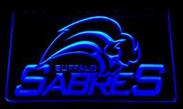 LS088-b Buffalo Sabres Bar Neon Light Sign