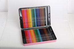 Wholesale Write painting Non toxic Beginner Pencils Erasable color Tin Coloring Artist Sketch children high quality Secret Garden