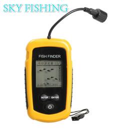 Wholesale Hot Sale Sonar Fish Finder River Lake Sea Bed Live Depth New Contour Fishfinder Fishing Finder