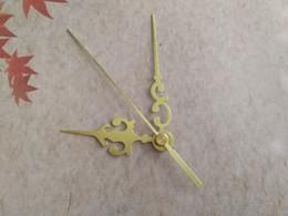100PCS DIY Gold Hands for Wall Clock Needle Hands Quartz Clockworks Arms DIY Clock Tool