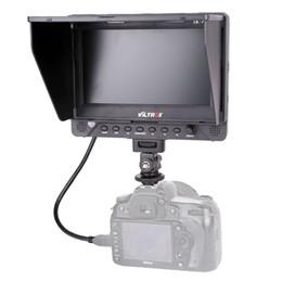 Lcd moniteur d'affichage vidéo en Ligne-7 '' Viltrox DC-70EX HD Clip-on HDMI / SDI / AV Entrée Sortie Caméra Vidéo Moniteur LCD pour Canon Nikon Pentax Olympus DSLR