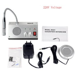 Wholesale All of our items are brand athe Anti interference and noise free function Application of fully automated call control silvery Window interc