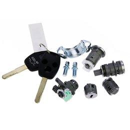 Wholesale Original Models Whole Honda Accord Locks Auto Cylinders Set With Keys applied directly to Honda Lock change directly Auto Lock