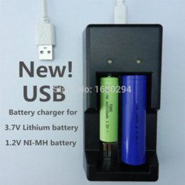 Wholesale NEW TOMO intelligent rechargeable charger for V V NI MH battery USB port car charger for AAA AA amp