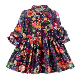 Wholesale 2016 Newest baby girl infant toddler beautiful dress princess dress long sleeve bowknot dress for BABY GIRL