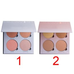 Wholesale 2016 New Branded ABH Glow Kit Makeup Face Blush Powder Blusher Palette Cosmetic Blushes Shades Gleam That Glow Sun Dipped
