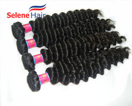 8A Virgin Brazilian Hair Extensions 100% Human Hair Weaves Deep Wave Peruvian Hair Bundles Dyeable Good Quality Fast Delivery