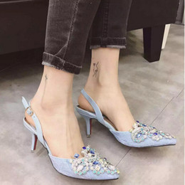 Free Shipping 2016 Brand Women Bridal Shoes Red Bottoms High Heels Sexy Woman Pumps Ladies Pointed Toe High Heels Shoes