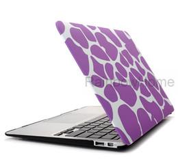 Promotion macbook shell 13 Couverture rigide en plastique cristal de protection Shell pour ordinateur portable Macbook 11 12 13 15 pouces Retail Box Package eau Decal multi Designs