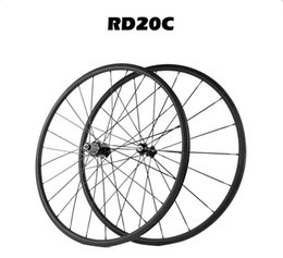 Wholesale carbon clincher wheelset height profile c road bike bicycle wheel cheap