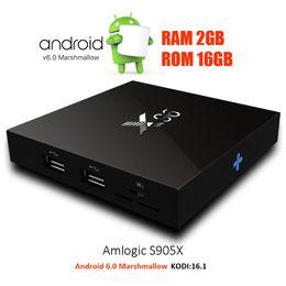 Wholesale X96 Android TV Box gb Ram gb Rom S905X Quad Core Bit Kodi Fully Loaded G Wifi Internet TV Box support K Hardware H