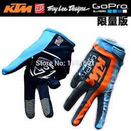 Wholesale gloves protective ktm motorcycle gloves soft guantes ktm for moto cycling sport breathable
