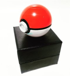 Wholesale Latest Pokeball Grinder Poke Grinders Herb Grinders Metal Zinc Alloy Plastic Metal Grinders Parts Grinders