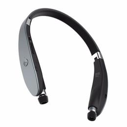 Wholesale 2016 Fashion Sports Bluetooth headphones Suicen SX Neckband wireless headset Anti lost CSR in ear earphones