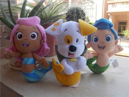 Wholesale Fisher Price Nickelodeon Bubble Guppies Plush MOLLY GIL PUPPY Plush Toy Kids