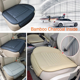 Wholesale Cover Chair Cushions - Universal Seatpad PU Leather Car Seat Covers for Auto Car Office Chairs Interior Accessories