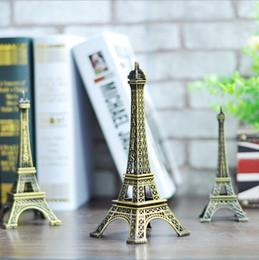 Wholesale 2016 New CM Eiffel Tower Statue Sculpture Paris Decor Metal Wedding Supplies Ornament