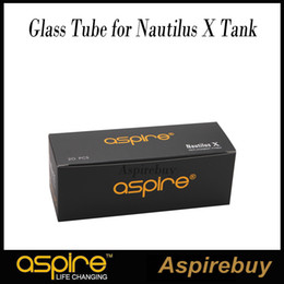 Aspire Replacement Pyrex Glass Tube for Nautilus X Tank Replacement Glass Tube for Aspire Nautilus X Tank Clear and Frosted Color
