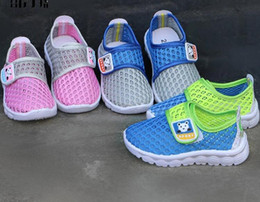 Wholesale Kids Shoes Girls Boy Shoes Children Mesh Kids Shoes for Boy And Girls Kids Sneakers Light Weight Breathable Baby Moccasins Casual Shoes