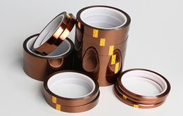 Wholesale 2016 with factory price mm m Single Sided Kapton tape high temperature tape polyimide film for insulation chip