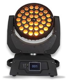 New 36x15W RGBWA(UV) 6in1 LED WASH ZOOM moving head light wash spot beam stage lighting ZOOM LIGHT