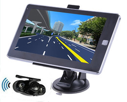 Wholesale Reverse Parking System inch Vehicle GPS Navigation M GB CPU800Mhz Wireless Rear View camera free latest maps