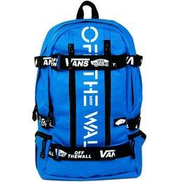 Wholesale Street backpack Off the wall school bag Skate board daypack Skateboard schoolbag Outdoor rucksack Sport day pack