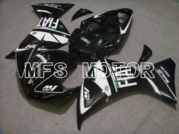 Hot Fairing Fit pour 09-12 2009-2012 2010 2011 Yamaha YZF-R1 2007 2008 Ensemble plastique en plastique kit de carrosserie d'injection à partir de fabricateur