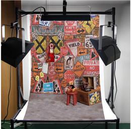 Promotion bébé toiles de fond la photographie de vinyle Backdrops de bébé sur mesure Backdrops de nouveau-né 5x6.5FT fonds d'écran de photographie Backdrops de studio photo de vinyle pour la photographie Backdrops