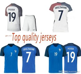 Wholesale The best French new French national team football shirts home and away kit Big preferential buy jacket send shorts