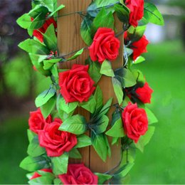 Wholesale Silk Artificial Flowers for Wedding Opening Ceremony Pink Red Champagne Decorative Rose Flower Wall Mounted Wreaths Romantic