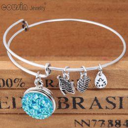 Wholesale DIY Metal Charms Bracelet Bangle mm Ginger Snap Button Bracelet Jewelry Fit Interchangeable Snap button