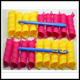 Wholesale Amazing Magic Leverag Hair Curlers Curlformers Hair Roller Hair Styling cm long hooksTools