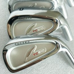New mens Golf Clubs TC510 Irons clubs Set #4-9P(7pcs) Golf irons with Golf shafts and Grips Free shipping