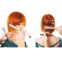 Wholesale Beauties Factory Ultrasonic Hot Vibrating Razor for Hair Cut Styling Avoid Split Ends ultrasonic hair trimmer