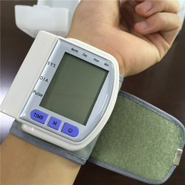 Wholesale New CK S Health Care Automatic Digital Wrist Blood Pressure Monitor Meter Blood Pressure Measurement Health Monitor Sphygmomanometer