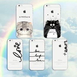 Phone Case for iphone X iPhone 8 7 6 6s plus 5s 5E printed drawing Case 0.5mm soft TPU Slim Protective Back Cover Case GSZ007