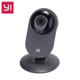 "Wholesale Smart Home Audio Wholesale - 10pc DHL Xiaomi YI Home Camera HD 720P IP Camera 110"" Wide Angle Two-way Audio Activity Alert Smart Webcam English Edition"