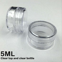 Wholesale ML PS Cream Jar Cosmetic Container Sample Jar Display Case Cosmetic Packaging g Mini plastic bottle