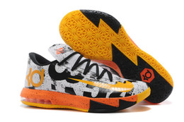 Wholesale Cheap KD Basketball Shoes KD VI What the KD Sports Shoes Basket Ball Boots Mens Trainer Kevin KD VI Athletics Footwear Sneakers