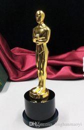 Wholesale Oscar Trophy Replica Zinc Alloy inch Size Gold plated Oscar Awards