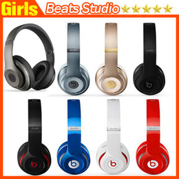 Wholesale Used Studio Wireless Headphone Bluetooth Headset Noise Cancel Headphones Headset with seal Serial code retail box Studio Headphones