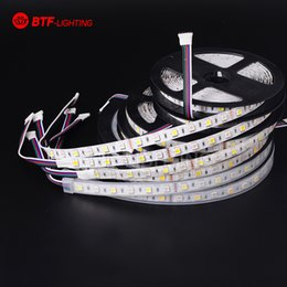 Wholesale strip animation m led M leds SMD Mixed Color RGBW RGB Warm Cool White RGBWW RGBCW LED Strip pin DC12V IP30 IP65 IP67