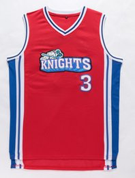 Wholesale 2016 New Style Like Mike Movie Jersey Knights Team Cambridge Men s Los Angeles Hollywood Stitched Basketball Jerseys