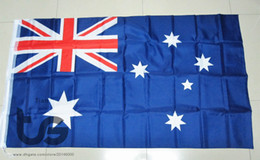 Wholesale Australia Australian flag national flag x5 FT cm Hanging Australia National flag Home Decoration flag banner