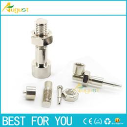 Wholesale - screw bolt smoking metal pipe pen stash smoking pipe sneak a toke ego cigarette