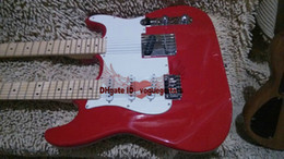 NEW Custom Shop Red Double Neck Electric Guitar High Quality Free Shipping