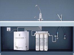 Wholesale 7 electrode electrolytic plates best alkaline water ionizer for Kitchen type installation JM form Japan brands